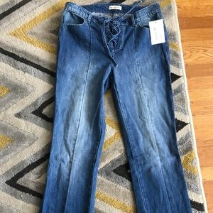 Lace up Ulla Johnson jeans